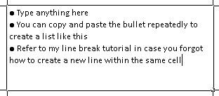bullet5