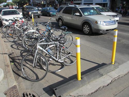 Bike Parking Corrals