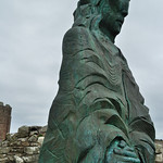 Lindisfarne statue