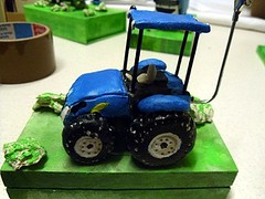 New Holland in fimo