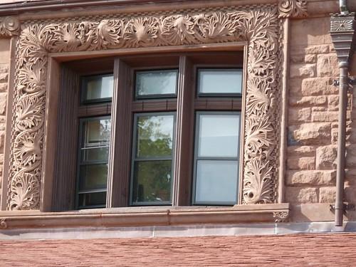 Exterior window frame