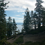 View of Lake Tahoe from the Campsite