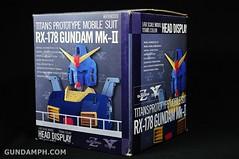 Banpresto RX-178 Mk-II TITANS Head (Bust) Display (3)