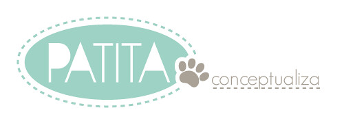 """Logo Patita Design """"conceptualiza"""""""
