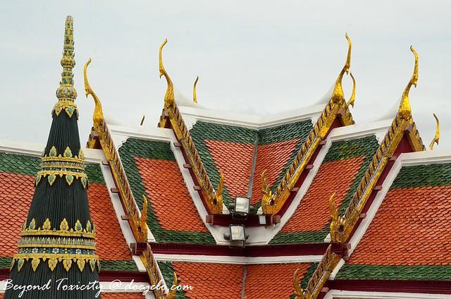 roof grand palace bangkok