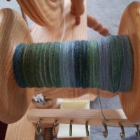 Yarn winding and deck painting
