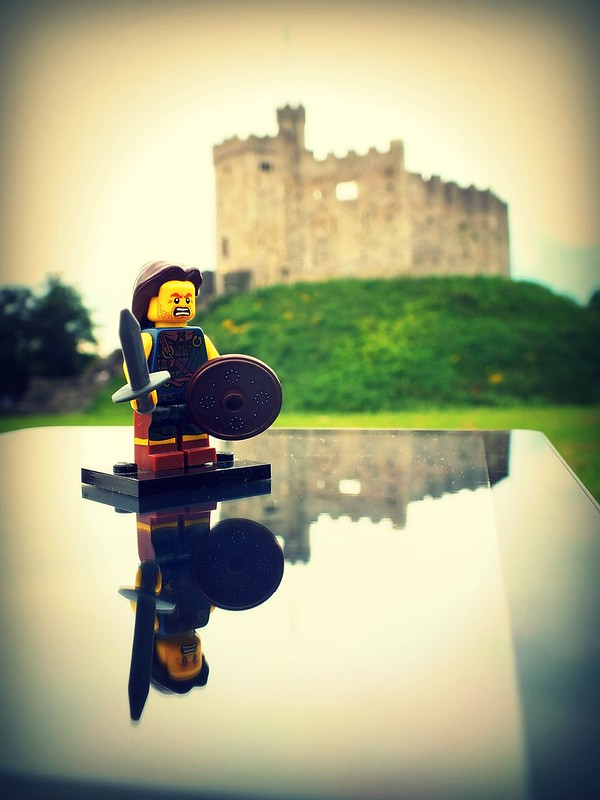Cardiff Castle Lego Characters