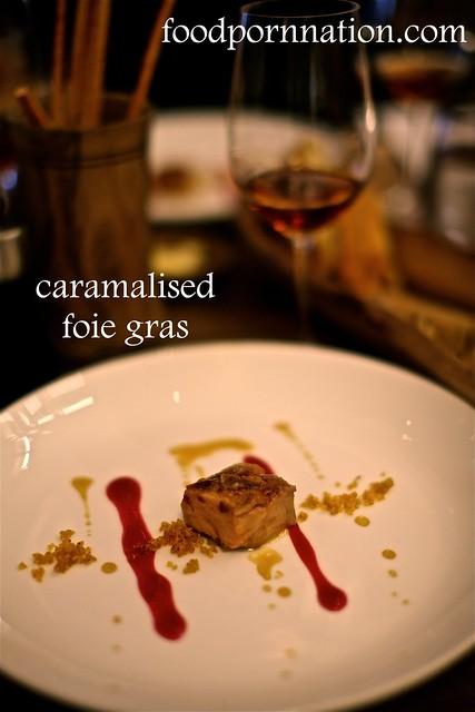 caramalised foie gras