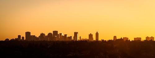 Strathcona Science Skyline Sunset