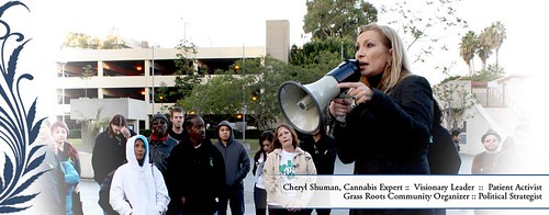 Activist Rally Lead by Cheryl Shuman ($RFMK)  MedicalCannabisManagement.com by CherylShumanInc