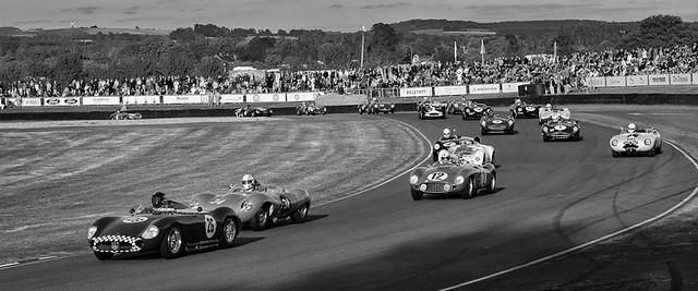 Racing round Molcombe