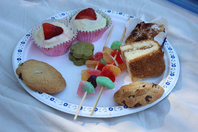 A sampling of the sweets and treats!