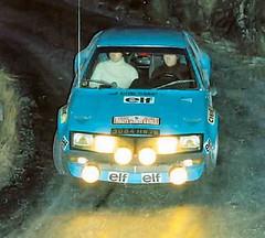 Renault Alpine A310 - Montecarlo 1975