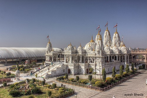 New Swaminarayan Mandir, Bhuj, Kutch by Jayesh Bheda