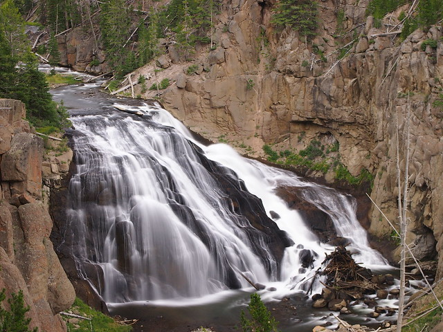 Virginia CascadesYellowstone National ParkWyoming
