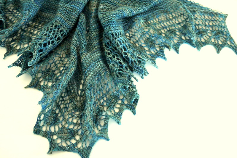 Birthday shawl 6