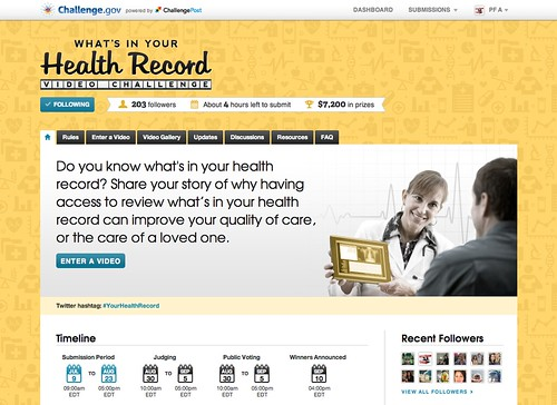 Screenshot: What's In Your Health Record