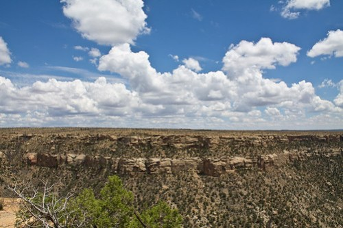 The sky at Mesa Verde NP