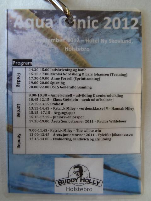 Fancy Aqua Clinic 2012 Accreditation