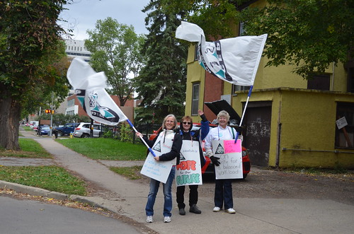 Edmonton Catholic School Board Support Workers' Strike