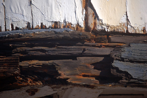 poor condition of wood