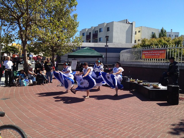Traditional dance performance, Mission Cultural Center for Latino Arts