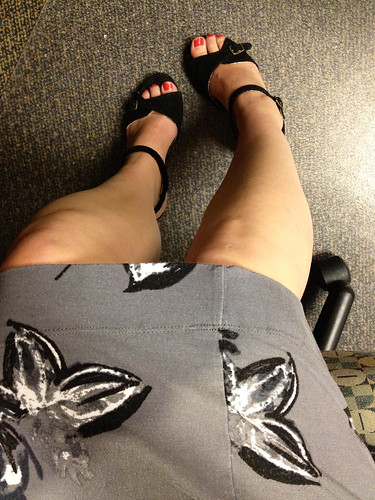 dress and shoes