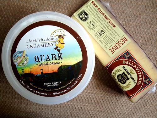 Quark from Clock Shadow Creamery