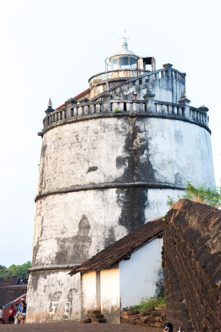 The Lighthouse at Fort Aguada, Goa