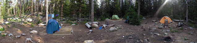 Lake of the Woods Campsite