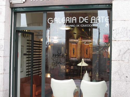 Galería de Arte, Barrio de Las Letras. Madrid