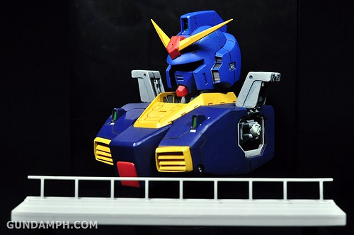 Banpresto RX-178 Mk-II TITANS Head (Bust) Display (19)