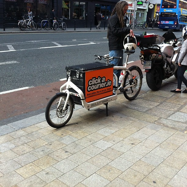 Dublin couriers cargo bike