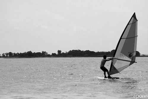 Windsurfing at Norwalk3-5