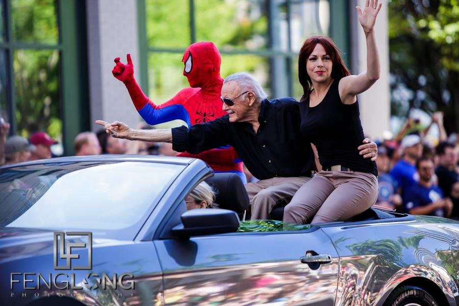 Stan Lee | Dragon*Con Parade 2012 | Atlanta Event Photographer