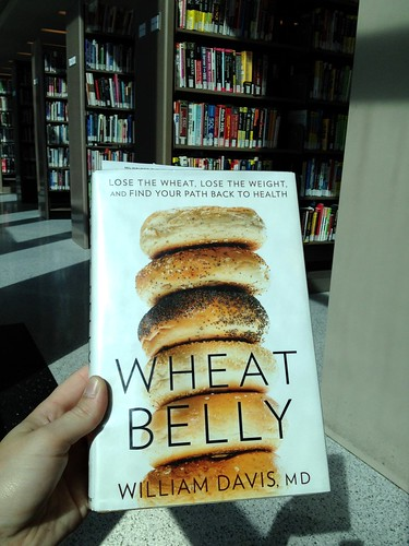 Wheat Belly book at library