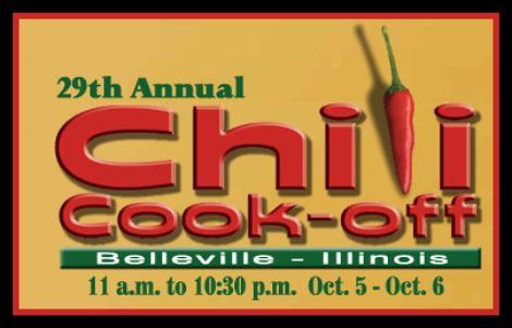 Belleville Chili Cookoff 10-5, 10-6-12