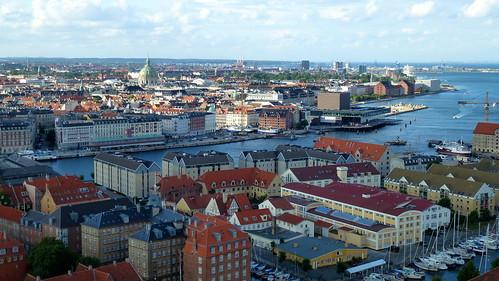 Copenhagen from Vor Frelsers Kirke