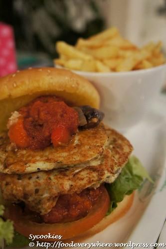 4.tofu burger @ garden RM 15.90 (4)