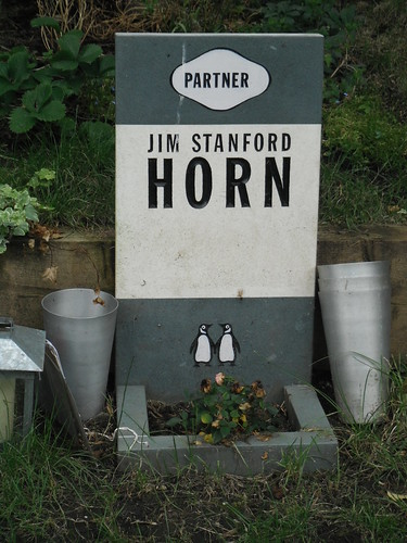 Jim Stanford Horn by Ashetray Girl