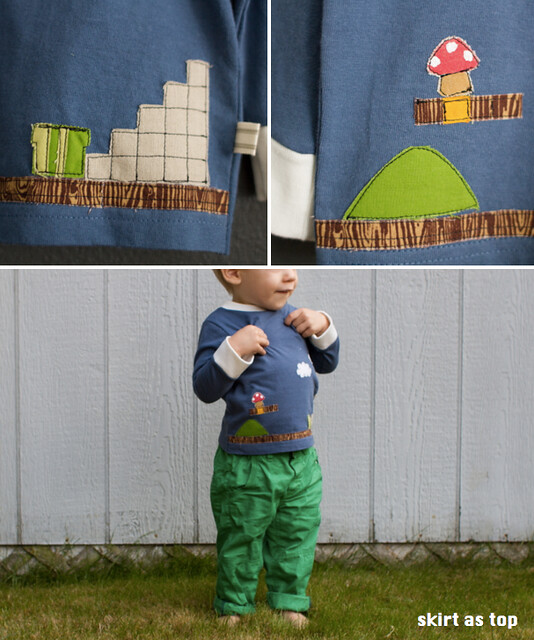 super mario bros flashback tee