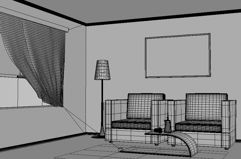 Waiting room_wireframe