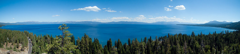 Panoramic Lake Tahoe
