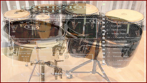 Syntheway Virtual Latin Percussion Kit VSTi: Bongo, Conga, Timbales VST Plugin Software by syntheway