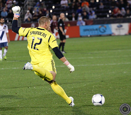 Josh Saunders, Colorado Rapids v LA Galaxy 1-1 Sept 30th 2012 by Corbin Elliott Photography