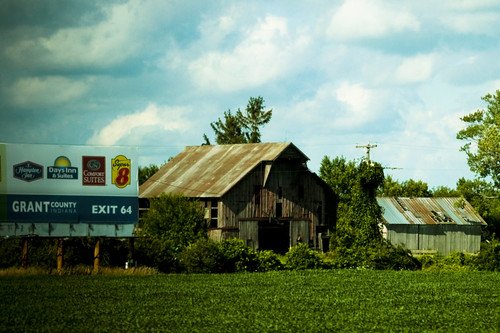 Billbord, Barn and Shed by jwill9311