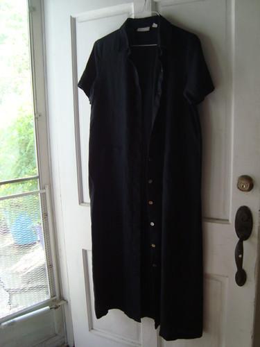 Caligari's coat - before