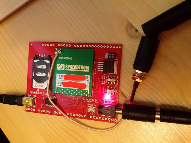 SM5100B GSM GPRS modem setup