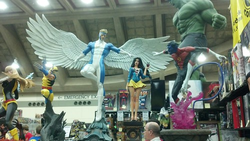 Expensive Statues at Baltimore Comic-Con 2012