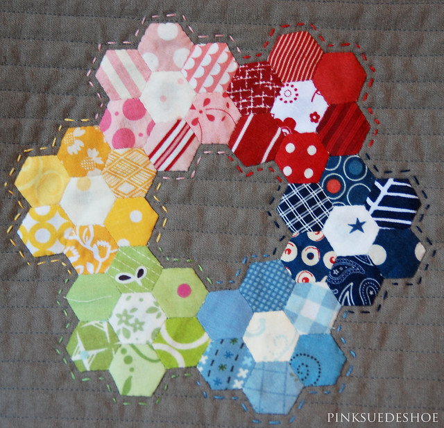 ring of hexies
